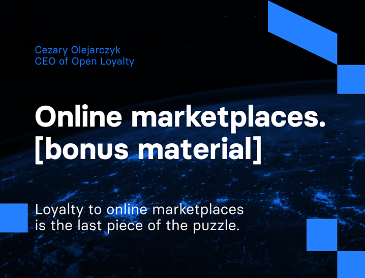 Loyalty to online marketplaces is the last piece of the puzzle | Divante