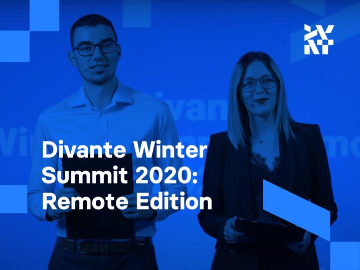 Divante Winter Summit 2020: Remote Edition. Different year, different event, same values | Divante