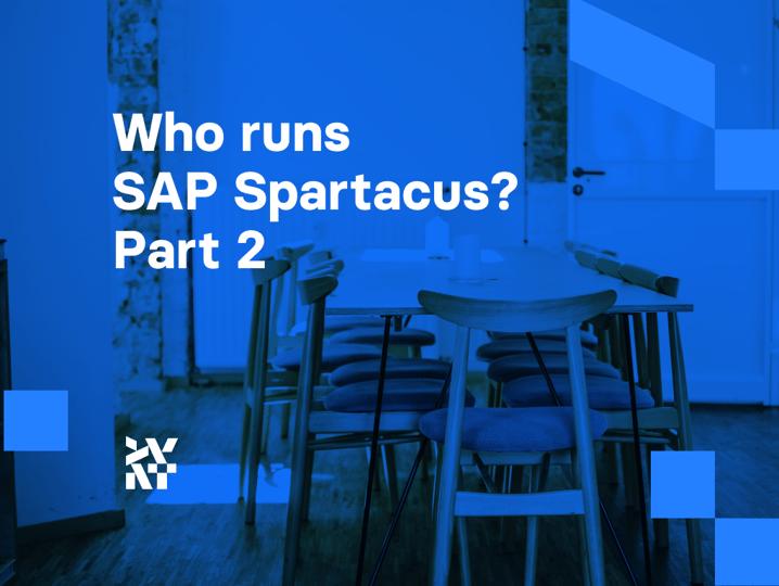 Who runs SAP Spartacus? Part 2 | Divante