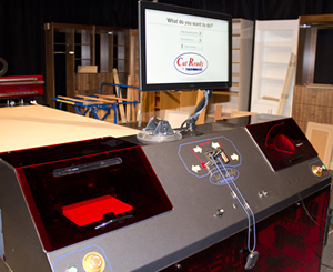 Thermwood Cut Center at IWF 2016