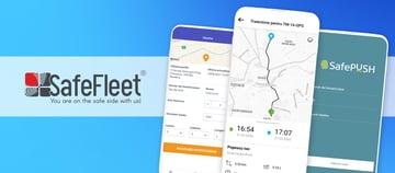 Aplicațiile mobile SafeFleet - Localizare GPS flota auto