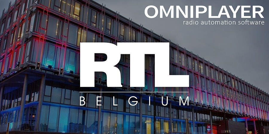 RTL Belgium selects OmniPlayer 3 as Radio Production & Playout System