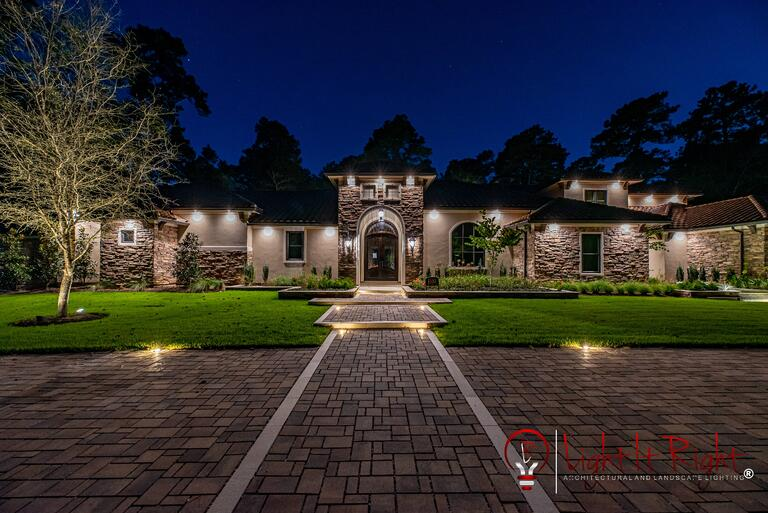 New Residential Project by Light It Right in Kingwood, TX