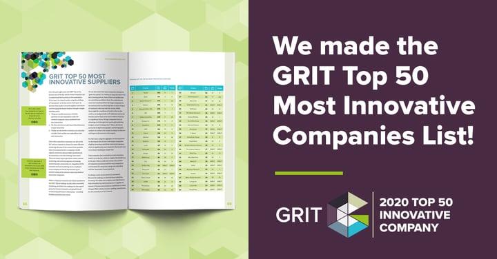 Medallia LivingLens ranked #19 on 'GRIT Top 50 Most Innovative Companies'
