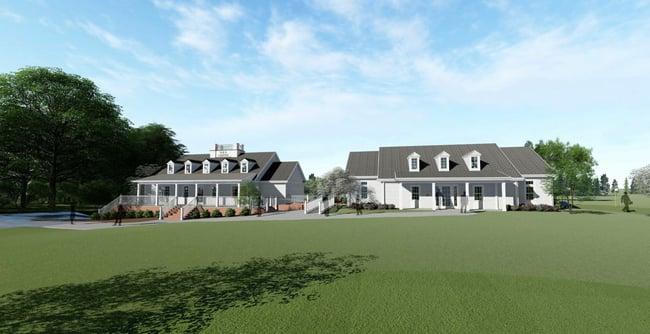Project Update: Furman University's Davis Faxon Golf Training Facility