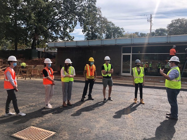 GA Tech Students Tour the New Hapeville Library