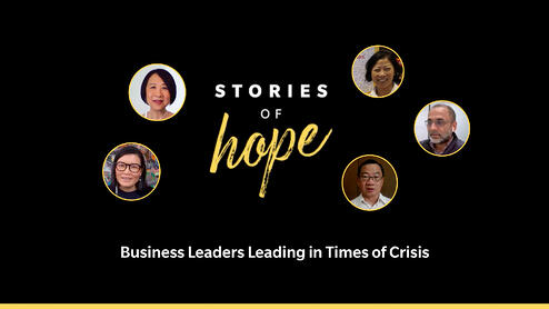 Stories of Hope - Crisis Leadership by CEOs and Senior Leaders