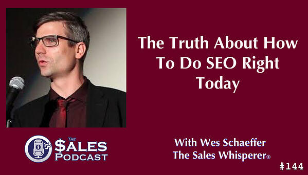 Listen to SEO expert, Danny Star, on The Sales Podcast.