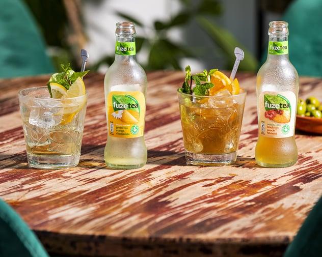 Laat jouw gasten genieten van een bruisende zomer met Fuze Tea