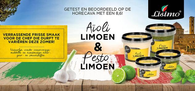 Aïoli LIMOEN & pesto LIMOEN