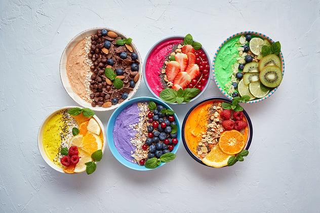 Smoothie bowls: lekker, populair en gezond!