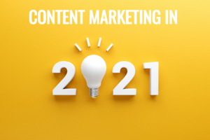 Content is key for marketing in 2021, proving to provide long term, recession-proof solutions for businesses. Here are the factors influencing it in 2021.