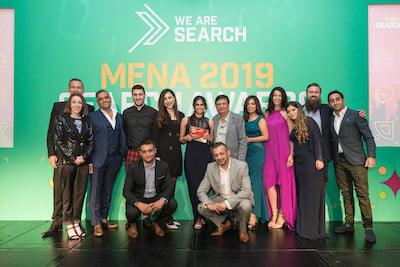 Mena Search Awards - Best Agency & Winning Agency 2020