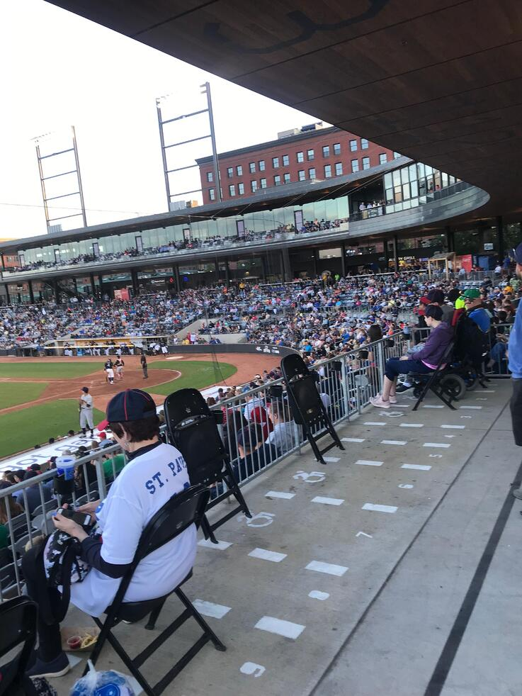 Seniors Out and About in the Twin Cities: Saint Paul Saints