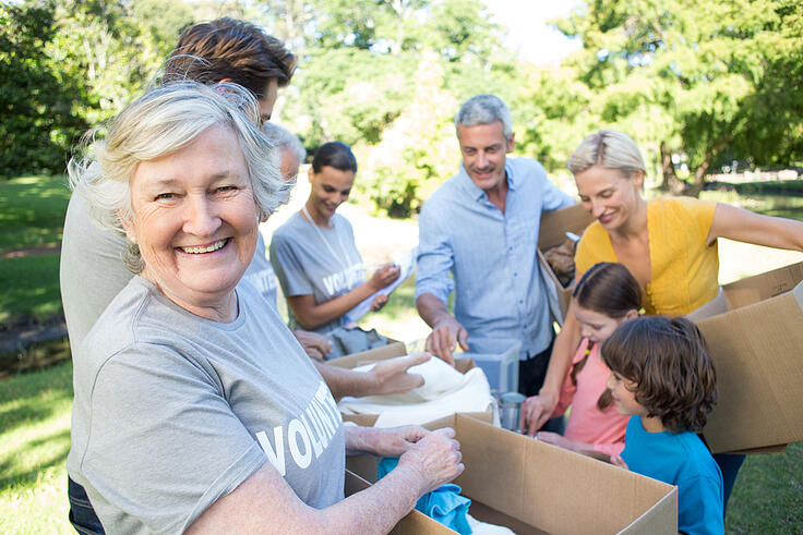 Seniors Out and About in the Twin Cities: Volunteering