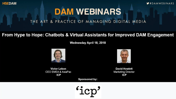 Chatbots and Virtual Assistants for Improved DAM Engagement  Thumbnail