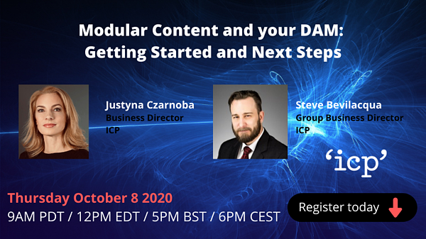 Webinar: Modular Content and your DAM: Getting Started and Next Steps