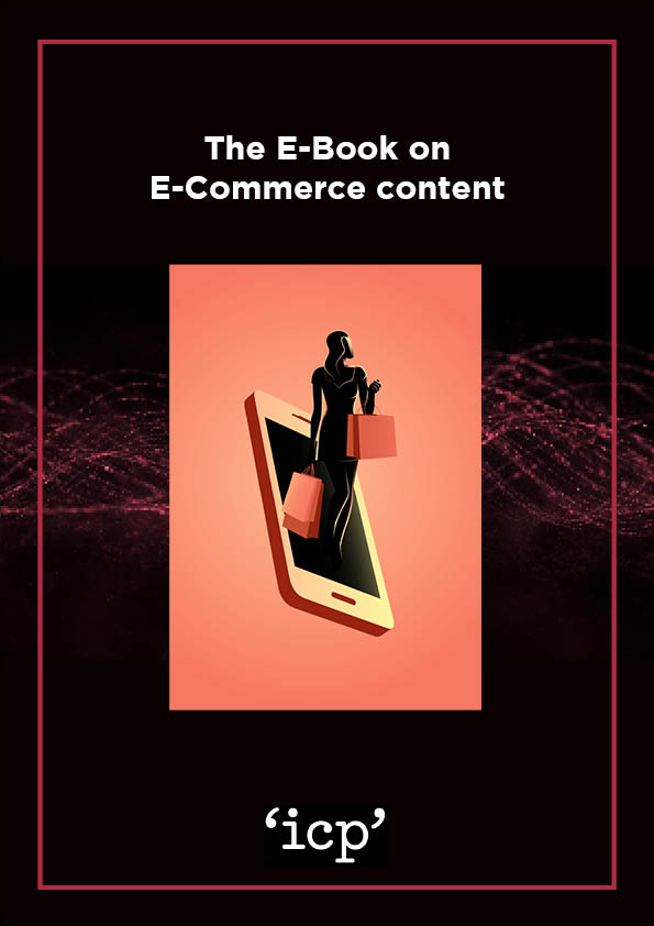 The E-Book on E-Commerce Content Cover