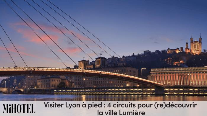 Passerelle du Palais de Justice à Lyon