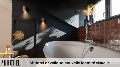 Inédit : MiHotel dévoile sa nouvelle identité visuelle