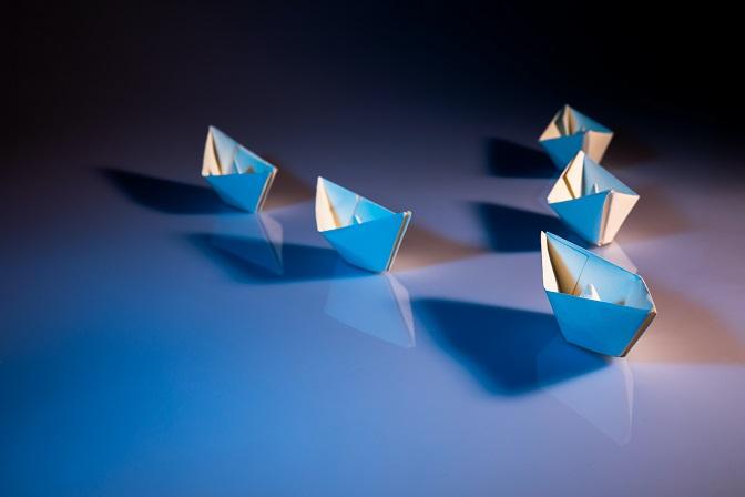 Paper boats leadership