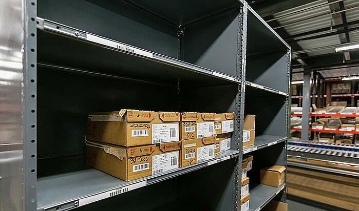 Top 4 Types of Industrial Shelving