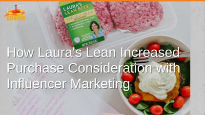 How Laura's Lean Increased Purchase Consideration with Influencer Marketing