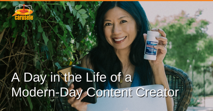 A Day in the Life of a Modern-Day Content Creator