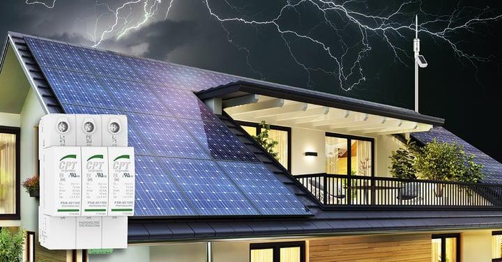 Autoconsumo fotovoltaico, cómo protegerlo contra sobretensiones