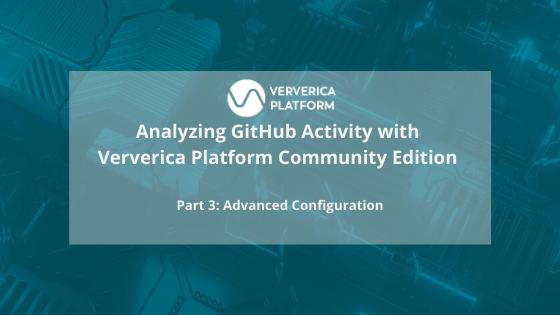 Ververica Platform, GitHub Analytics, event streaming, stream processing, flink, apache flink