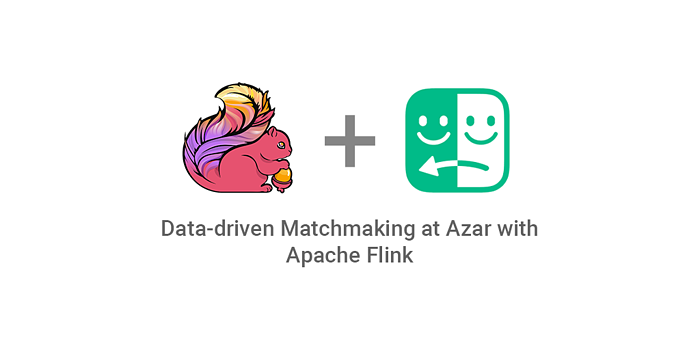 Data-driven Matchmaking at Azar with Apache Flink