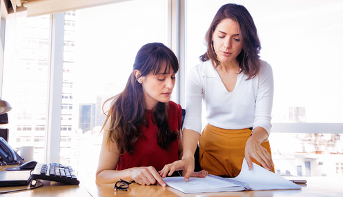 two pay equity experts researching new equal pay legislation