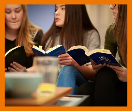 Morling student was so impacted by her learning that she noticed significant changes within her Scripture class.