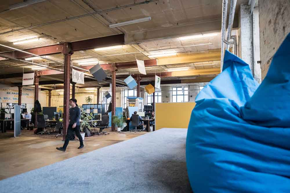 a startup job in the spinlab is a dynamic experience