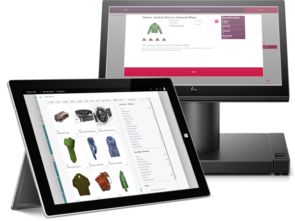 FT LS Central for retail-Cut costs, save time-HP-windows-engage one-surface pro-tablet-pos-clienteling-fashion
