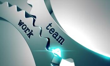 Team Work on the Mechanism of Metal Gears.