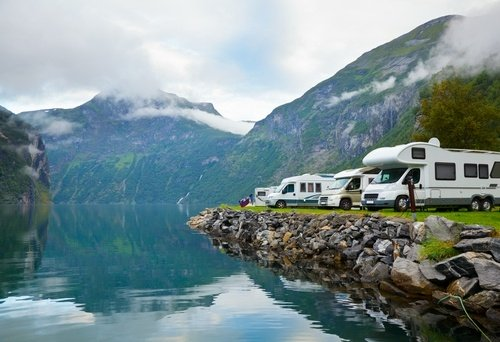 4 beautiful locations that are great for the #TravelNurse RV life