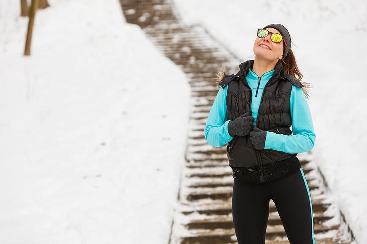 Get your exercise in by taking the stairs in 2019