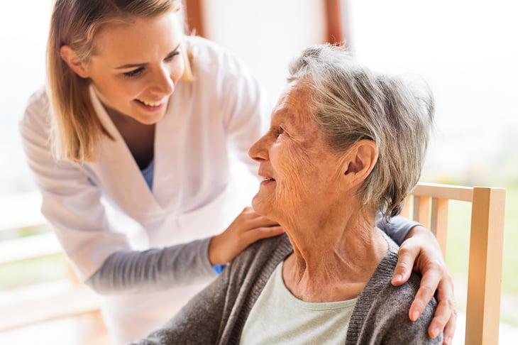 Working as a home health RN