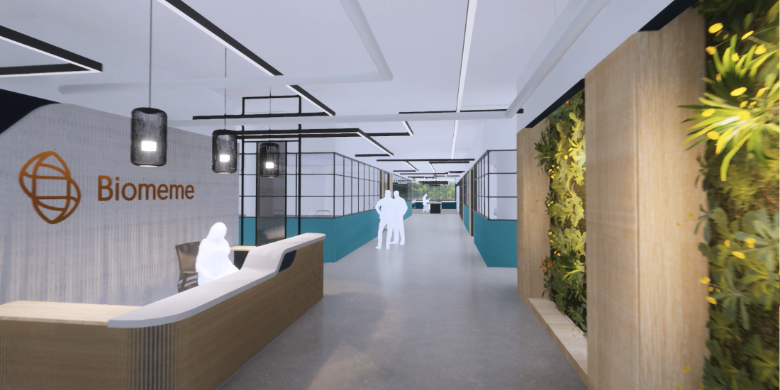 Biomeme HQ walkthrough provided by Strada Architecture.