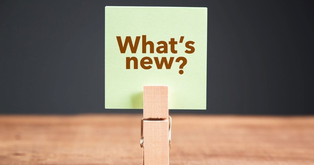What's new product update note