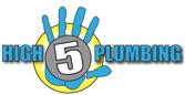 high 5 plumbing logo web-1