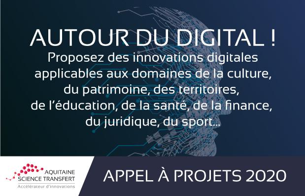 La SATT Aquitaine lance un appel à projets : Autour du digital !