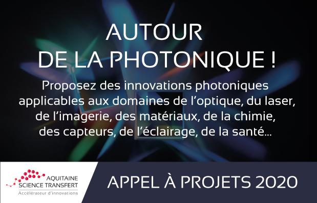 La SATT Aquitaine Lance un appel à projets : AUTOUR DE LA PHOTONIQUE !