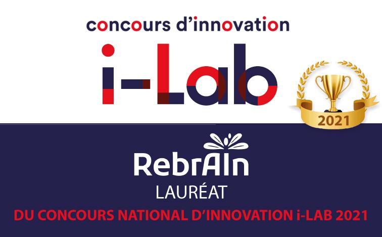 La start-up deeptech RebrAIn lauréate du concours d'innovation i-Lab 2021