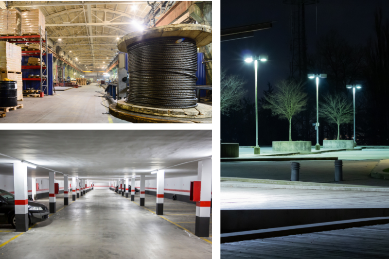 LED Lights for Industrial Use: 3 Ways to Use LEDs in Your Space