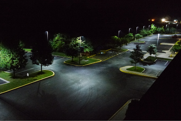 Outdoor LED Parking Lot Lights: Making a Difference