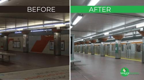 LED Conversion: Southeastern Pennsylvania Transit Authority