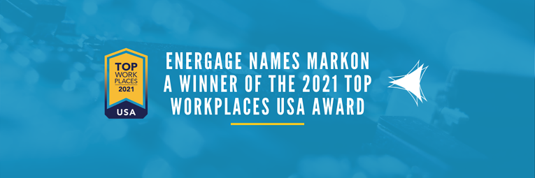 Energage Names Markon a Winner of the 2021 Top Workplaces USA Award