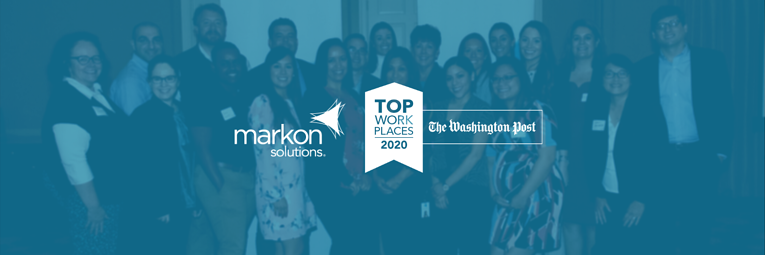 Washington Post Names Markon Solutions a 2020 Top Workplace